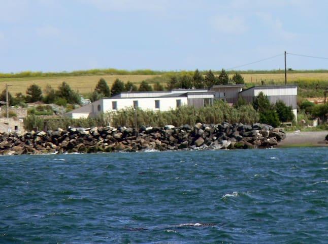Grand appartement avec vue sur mer - Cricqueville-en-Bessin - Casa