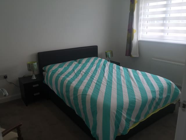 Comfortable double room - Spennymoor - บ้าน