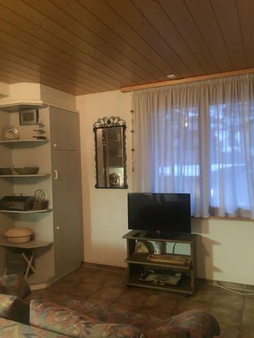 Sweet and homelike two room flat in Mürren