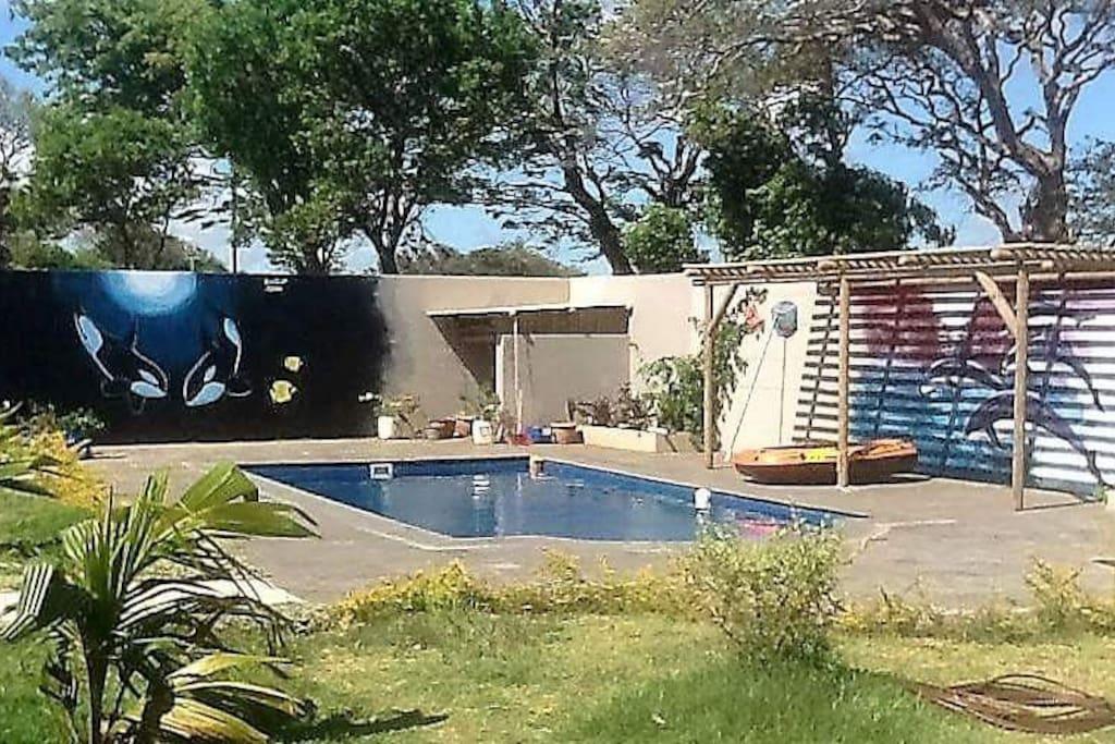 Chez jp bed breakfasts zur miete in souillac savanne - Jardin sauvage st roch l achigan colombes ...