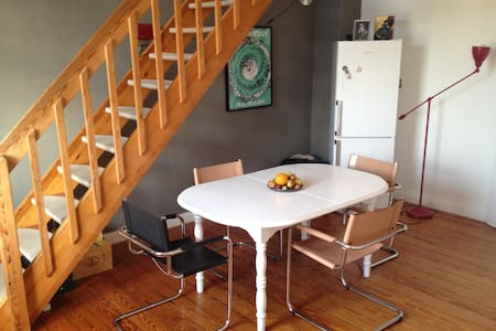 Large & charming maisonette appartement - 基尔 - 公寓