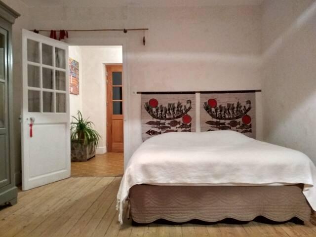 Chambre et vestibule