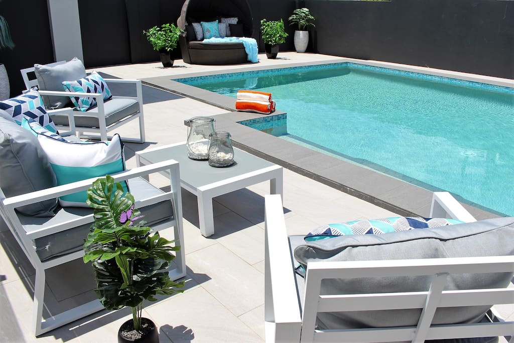 Large Salt Water pool - fully secure and tested regularly