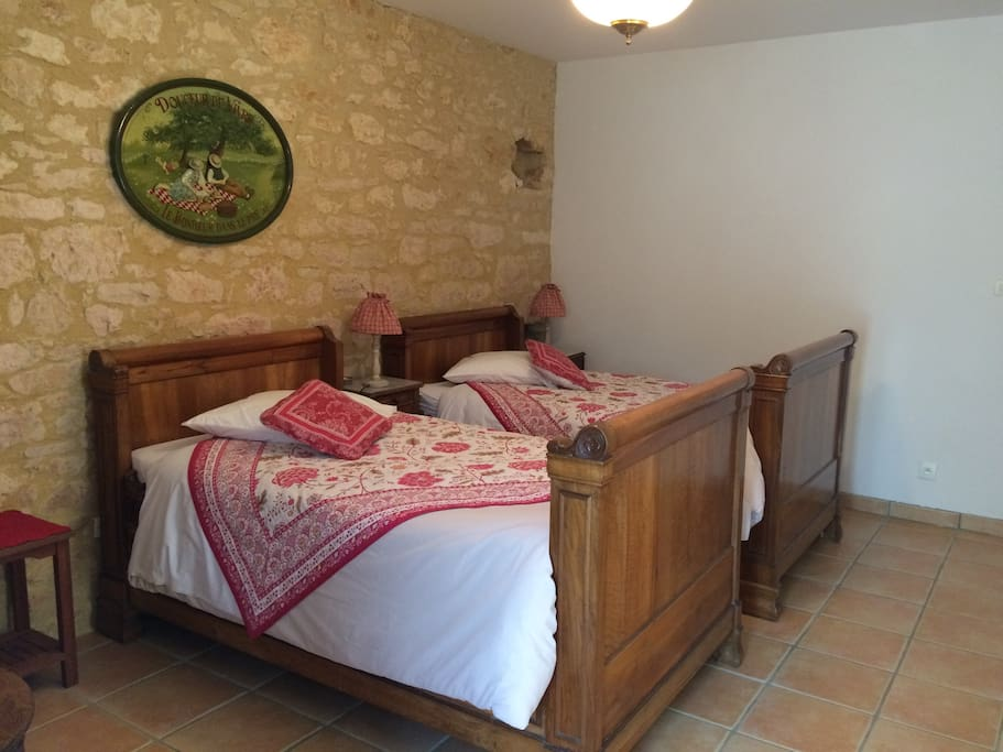 La Licorne, les Coquelicots