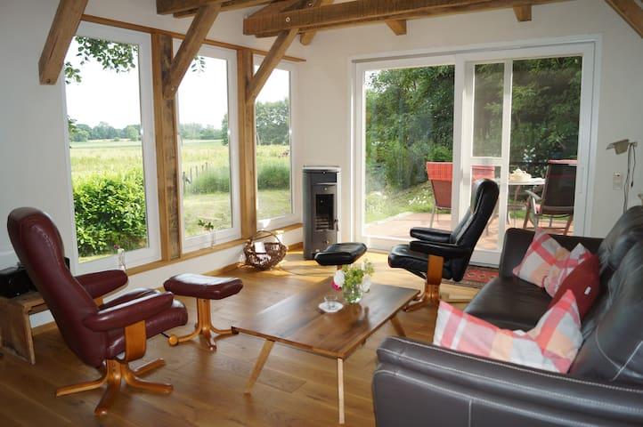 Backhaus auf dem Hof am Kolk - Löningen - Dům