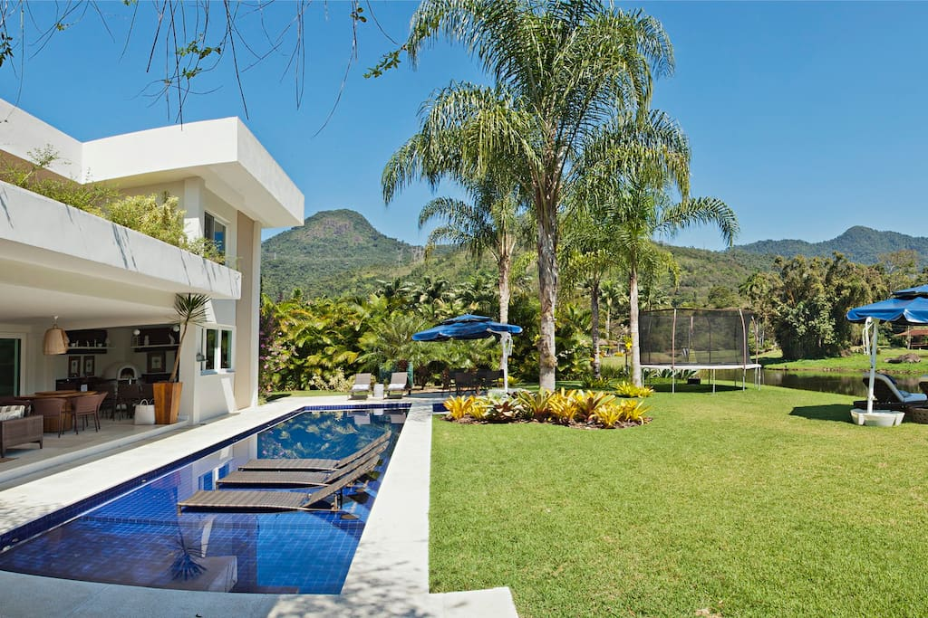 piscina / jardim