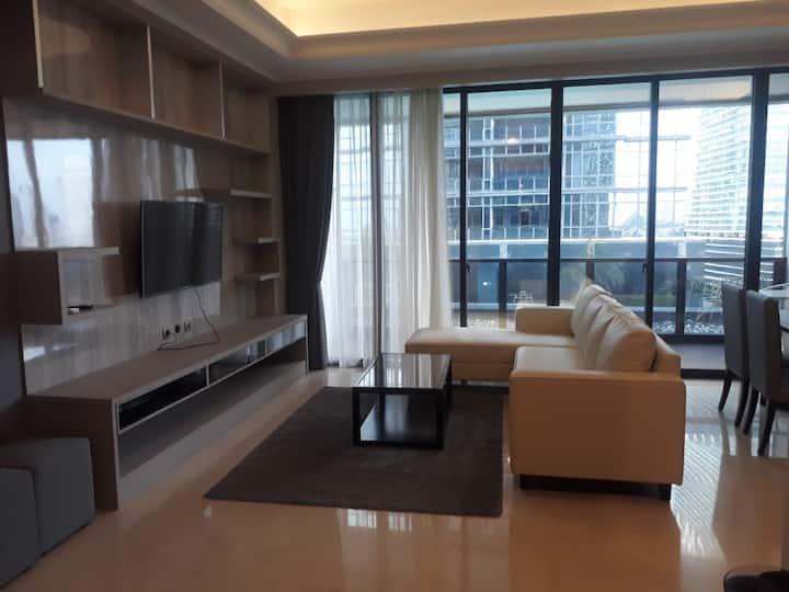 Spacious 3BR Apartment in SCBD, Kebayoran Baru