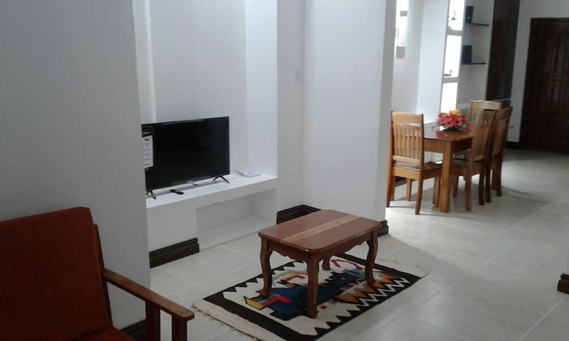 Living area has a smart Tv.  Wifi throughout the apartment.
