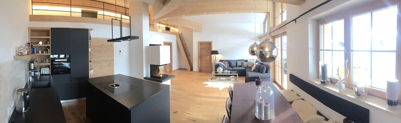 Chalet-Apartment Kitzbühel / Kirchberg (Penthouse) - Kirchberg in Tirol - Leilighet
