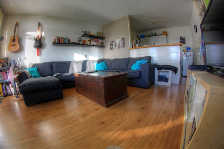 Cosy 1BR with a View - Steps from the Metro - Amstelveen - Daire