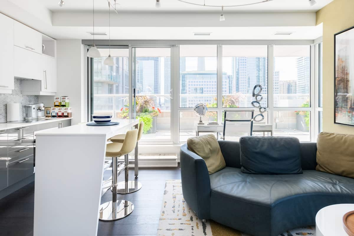 Luxurious and Stylish Condominium with Huge Private Terrace