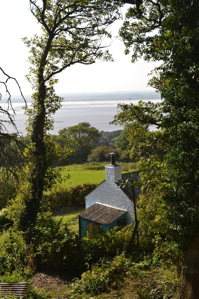 Stunning views looking south over Wigtown Bay