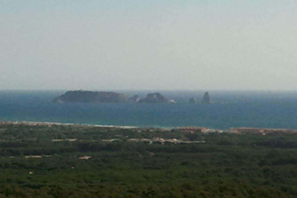 Maravillosas vistas des de la terraza de las Islas Medas
