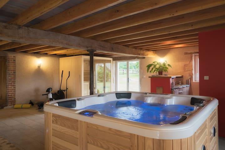 Gite Domaine de Mitonnière, spa, sauna