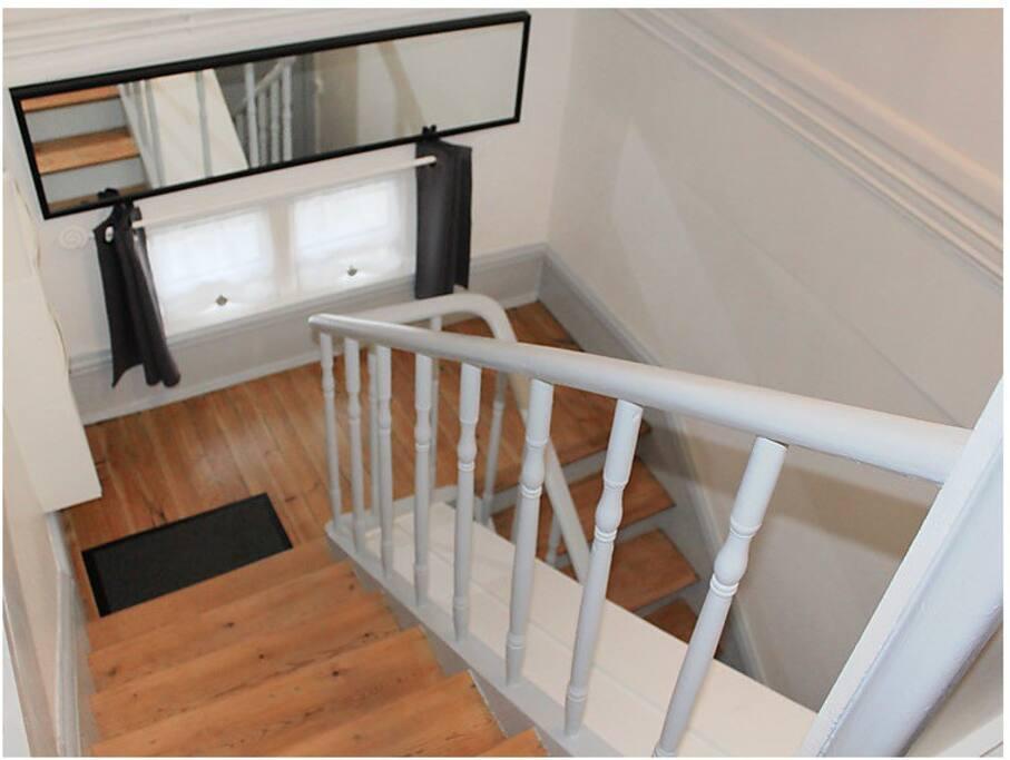 Escalier privatif