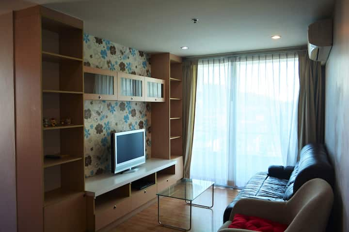 1BR 55 Sq.M. Sriracha panoramic view city center