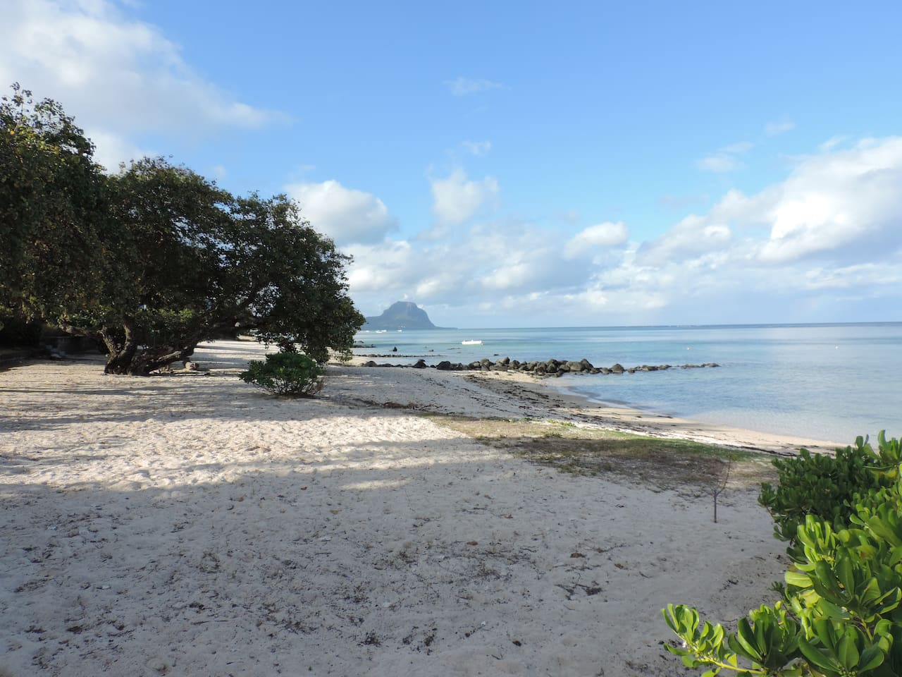 One of the best beaches of Tamarin is right in front of the apartment at 30 meters - private and peaceful.