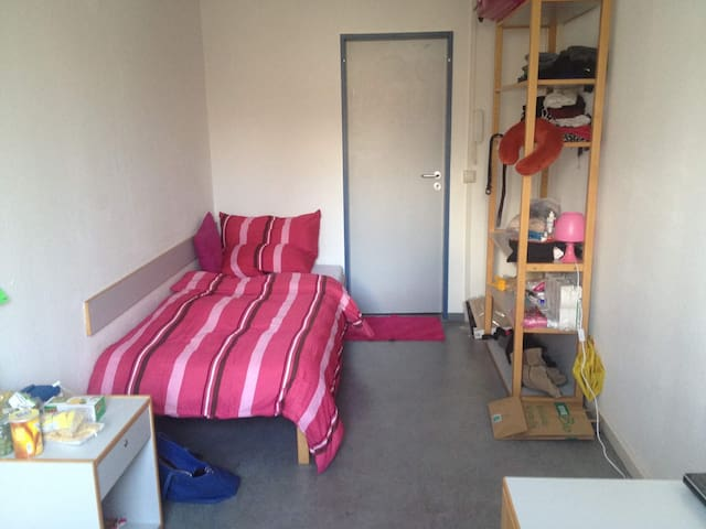 Sunny room close to City center (10mins walk) - Dresden - Makuusali