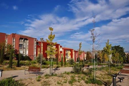 Habitación doble, zona tranquila, facilidad coches - Apartament