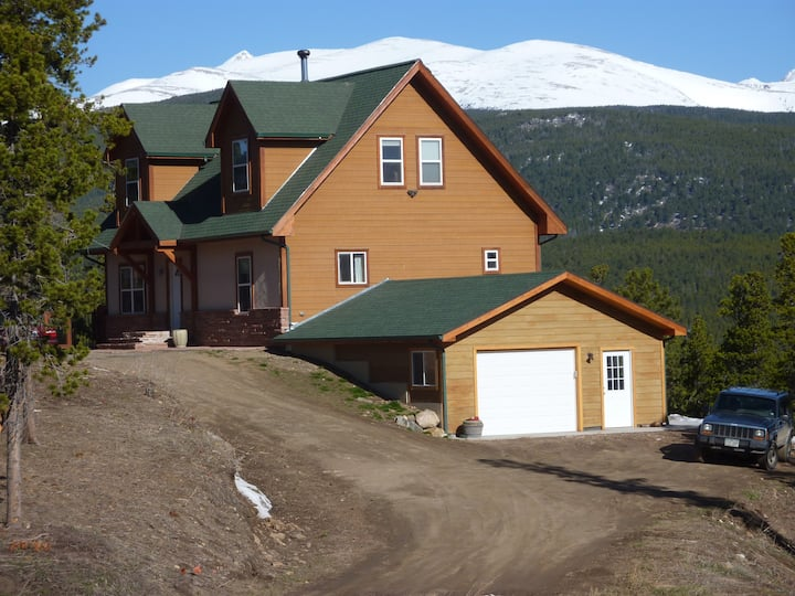 Mountain Home Close to Hiking, Biking, and Skiing