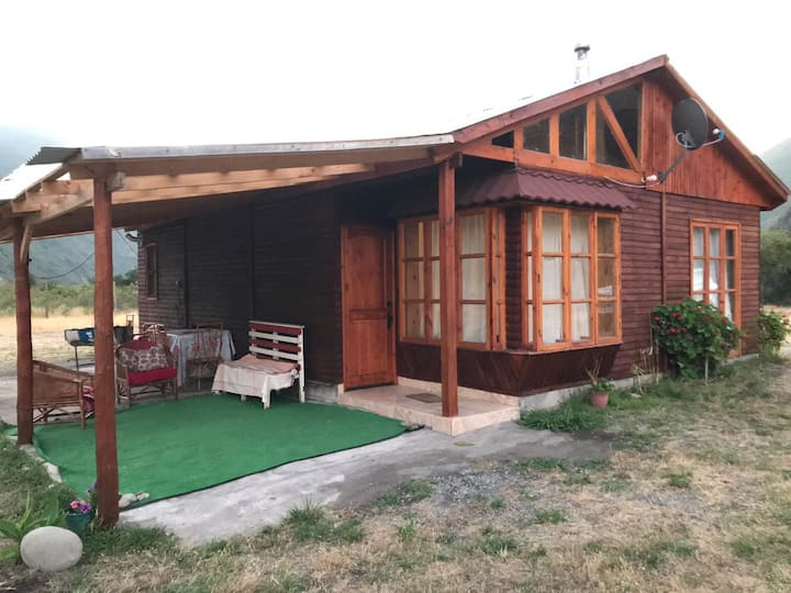 Cabaña El Sol. Cordillera Talca/SnClemente/Colbun