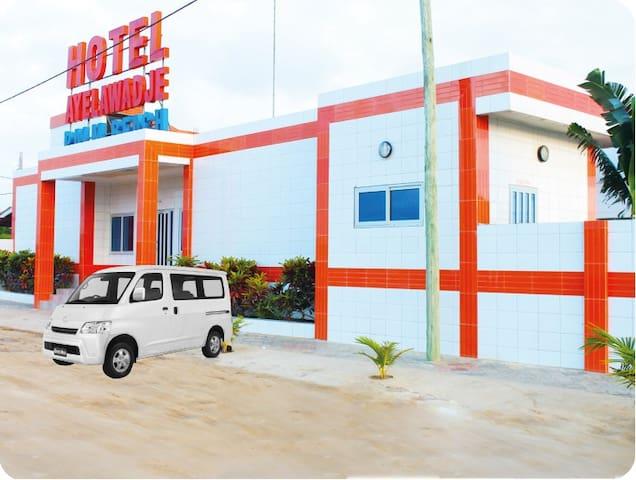 HOTEL AYELAWADJE PALM BEACH - Cotonou - Guesthouse