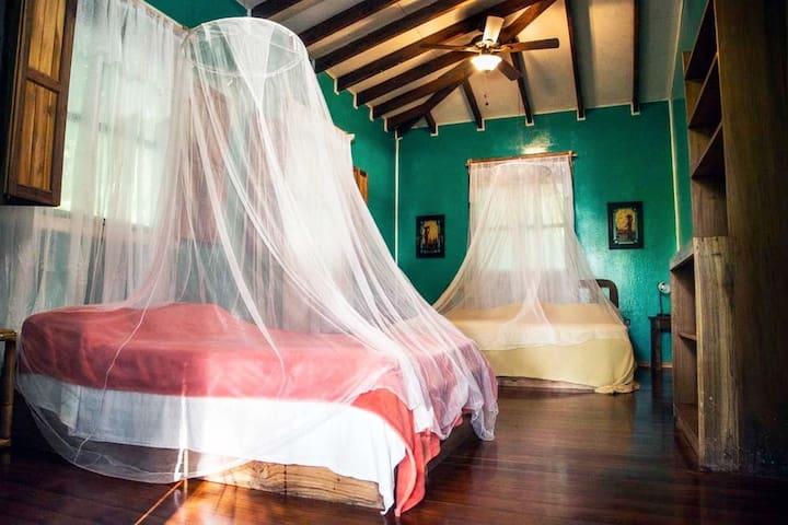 Manzanillo Wildlife Refuge- Eco Lodge A/C (Room 1)