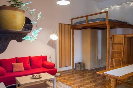 Pine Tree Studio in Historical City Centre