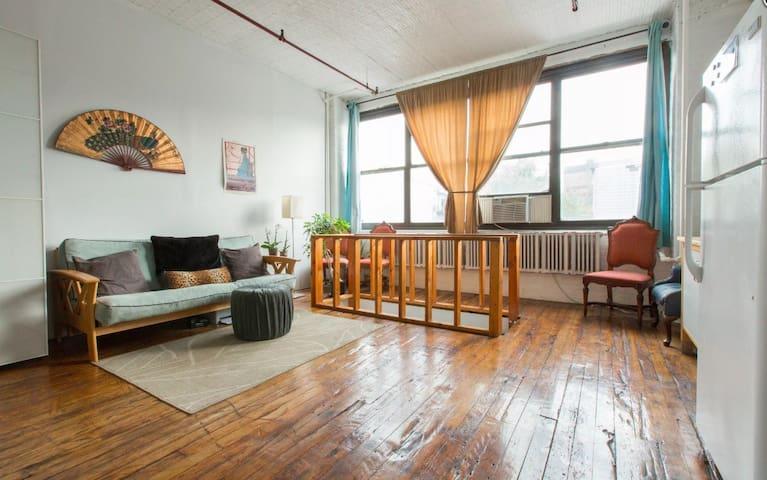 Huge Loft Apartment by 6 Corners - Chicago - Loft