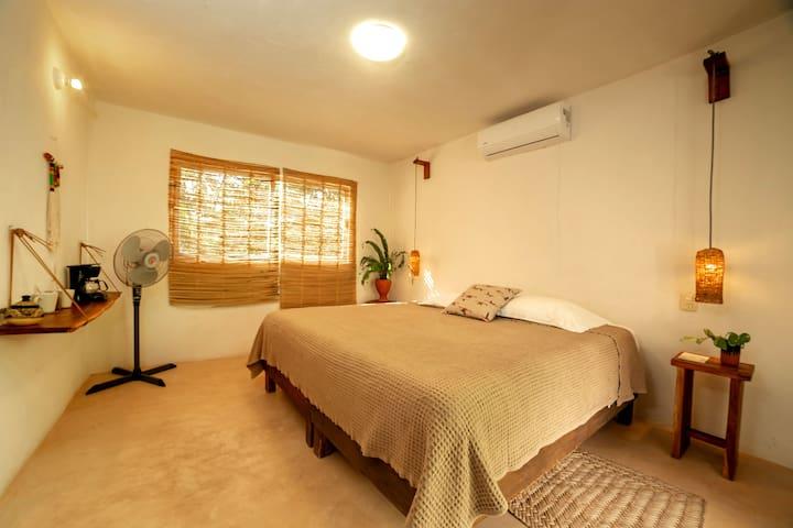 Casa Otoch -4- Studio with private jungle terrace