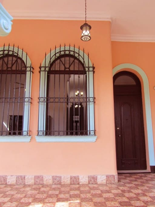 Front View of Front Porch - Entrance to Home