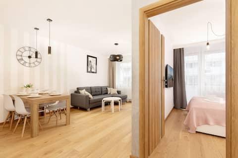 Apartment with bedroom ☼ Bliżej Morza ☼