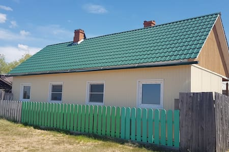 Домики на берегу Байкала