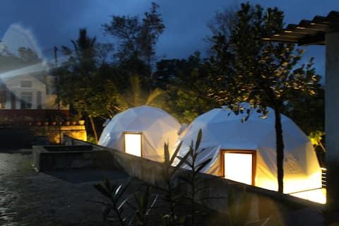 Birds Eye Estate Geodesic Glamping Domes