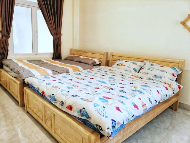 Homestay VƯỜN DÂU NHẬT - Double Bed Room #1