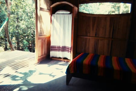 Yogic Jungle Casita2 Close to Ocean - san juanillo  - Cabin