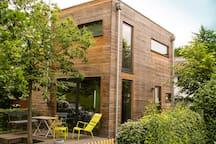 kleines modernes Ferienhaus