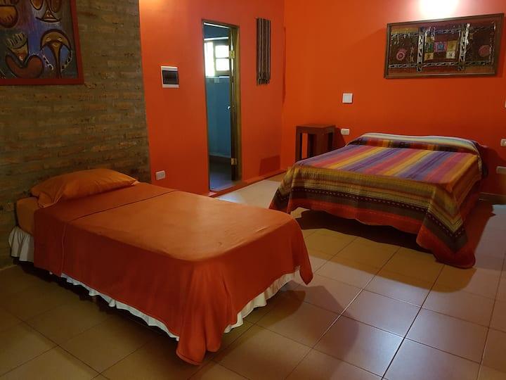 Casa Yaguarete breakfast and private entry