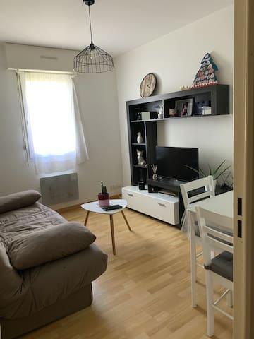 Appartement rez de chaussé en résidence