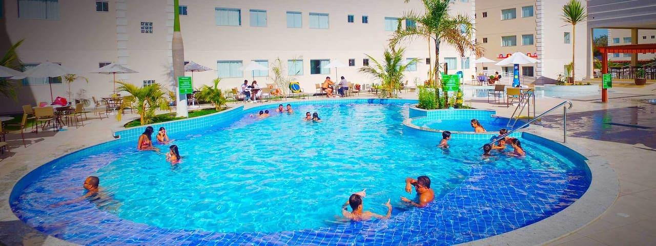 Resort Encontro das Águas - Caldas Novas - 2017 - Caldas Novas
