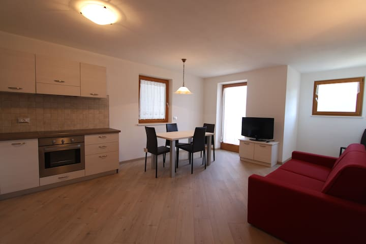 Appartamento x 4 persone - Carano - Apartament