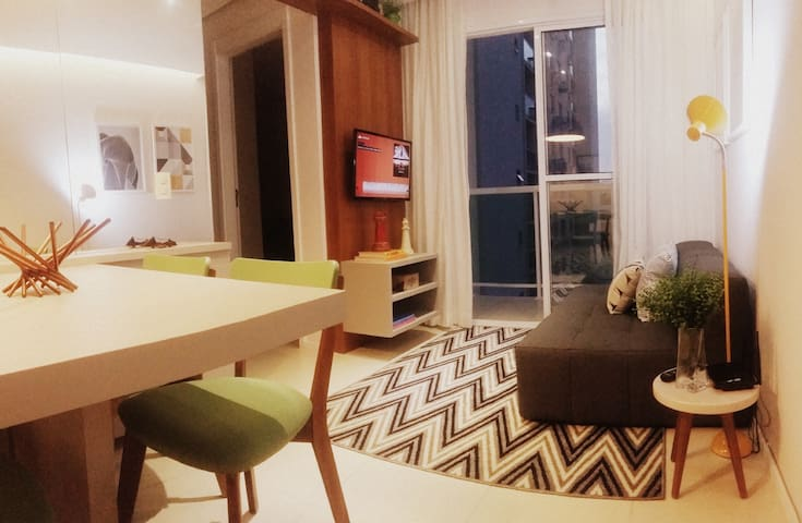Entire Cool place for 4 people in Rio - Rio de Janeiro - Appartement