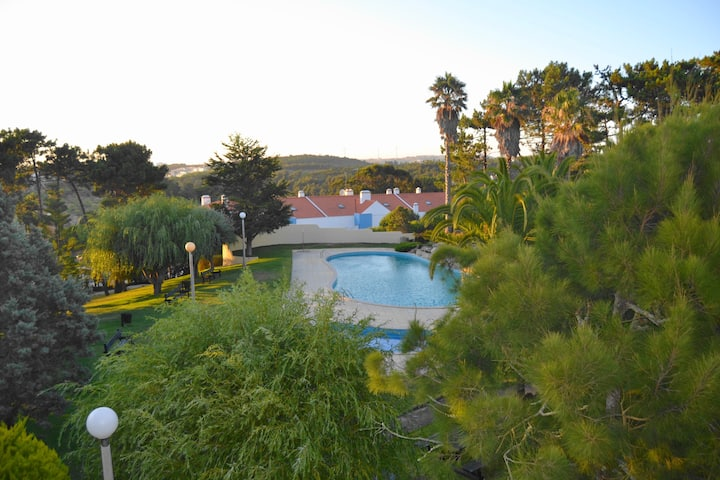 House family at Ericeira in a private condominium