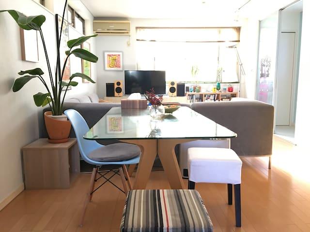 Shibuya is very near, Happy room on 1st floor - Setagaya-ku - บ้าน