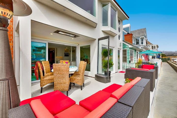 Water Front Luxury House - Large Patio, Private Dock with Kayaks. Amazing! - Newport Beach - Condominium