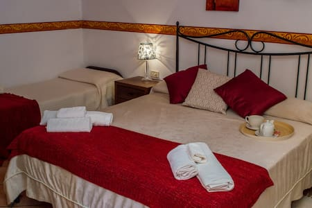 Villamirella: Camera tripla - Palinuro - Bed & Breakfast