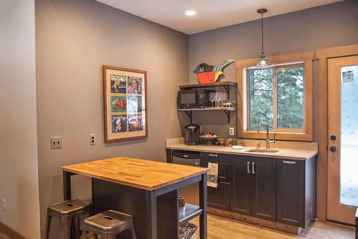 East Wing Guest Suite -  2 mi from Leavenworth - Leavenworth - Domek gościnny