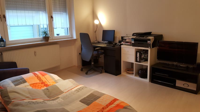 Nice room with desk and TV close SAP - Sankt Leon-Rot - Apartemen