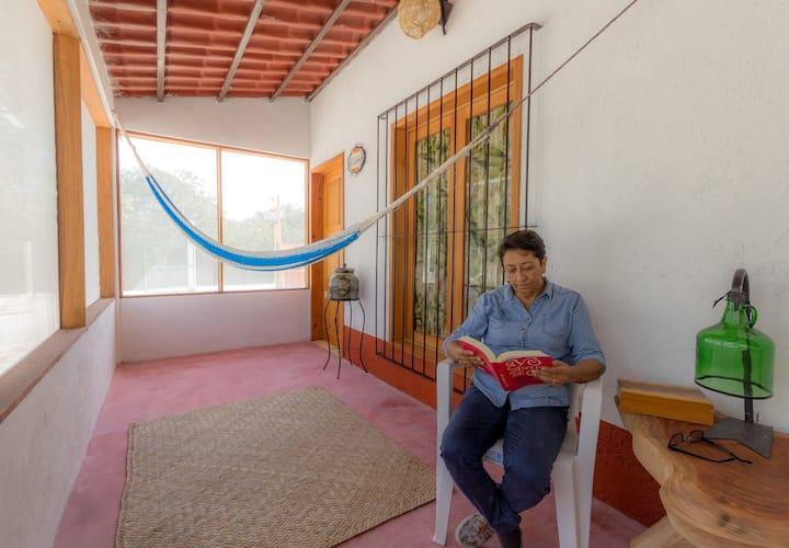 Hostal Casa Mazzoco Becan habitación El Saraguato