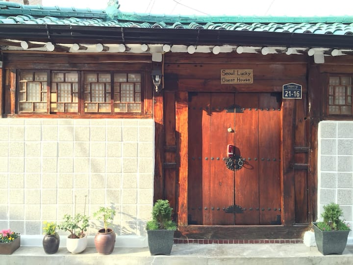 Seoul Lucky GuestHouse, Room with Private Bath #2